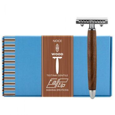 Fatip 42134 aparat de ras lemn de nuc (pieptăni inchis - closet comb)