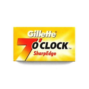 5 Lame de barbierit Gilette 7 O'Clock Sharpedge